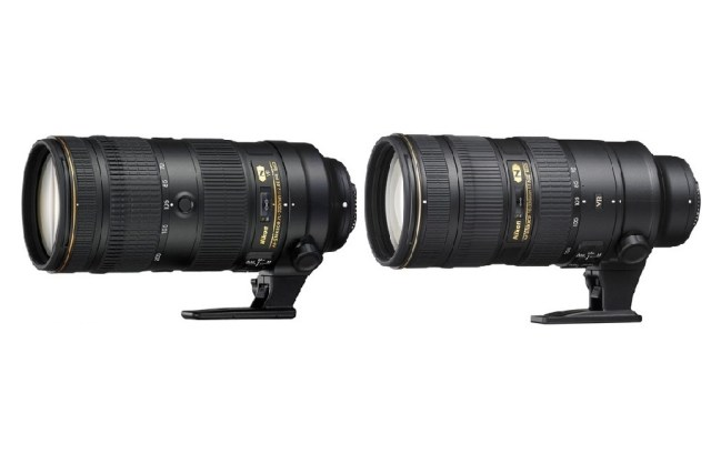 Nikon 70-200mm f/2.8E FL ED VR vs 70-200mm f/2.8G ED VR II