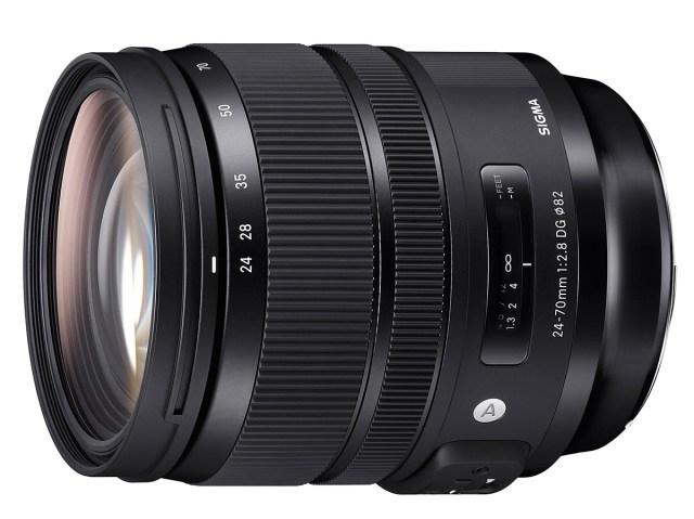 Sigma 14mm F1.8, 24-70mm F2.8 and 135mm F1.8 Art ve 100-400mm lensler
