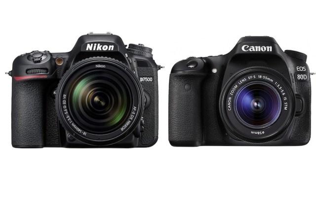 Nikon D7500 vs Canon 80D Karşılaştırması