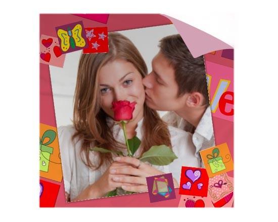 Federa Cuscino Personalizzata Romantic  Fotoregalicom