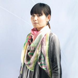 foulard sciarpa personalizzata in seta donna