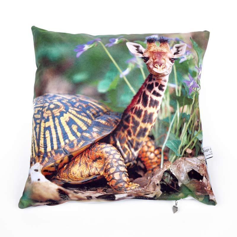 Il foto cuscino personalizzato con testi e foto di
