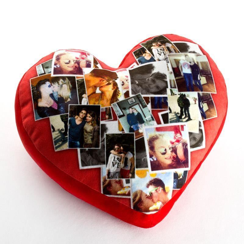 Cuscino cuore personalizzato  Foto Regali Originali