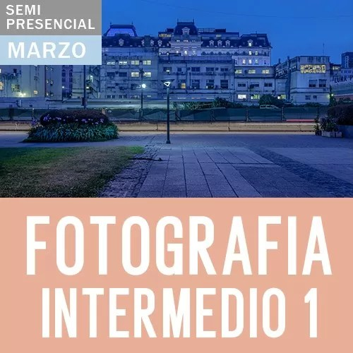 Curso de Fotografía Nivel Intermedio 1