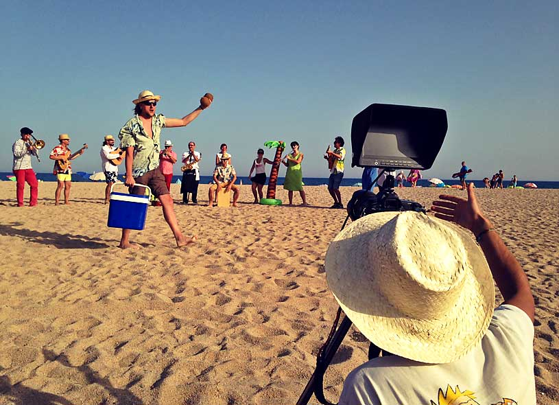 rodaje-playa-verano-camara-canon-5d-rumba