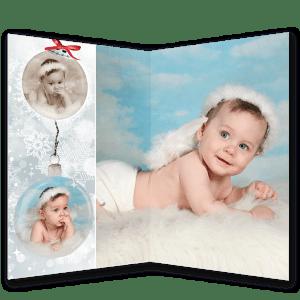 Dípticos navideños en Fotosistema Vélez