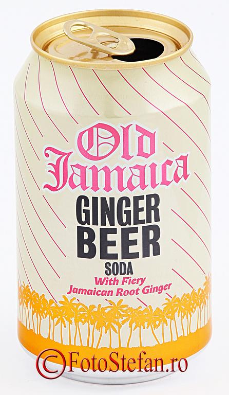 Old Jamaica Ginger Beer si Grace Ginger Beer - FotoStefan