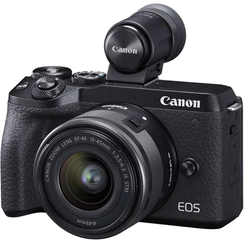 Canon EOS M6 Mark II - aparatul foto mirrorless compact - FotoStefan