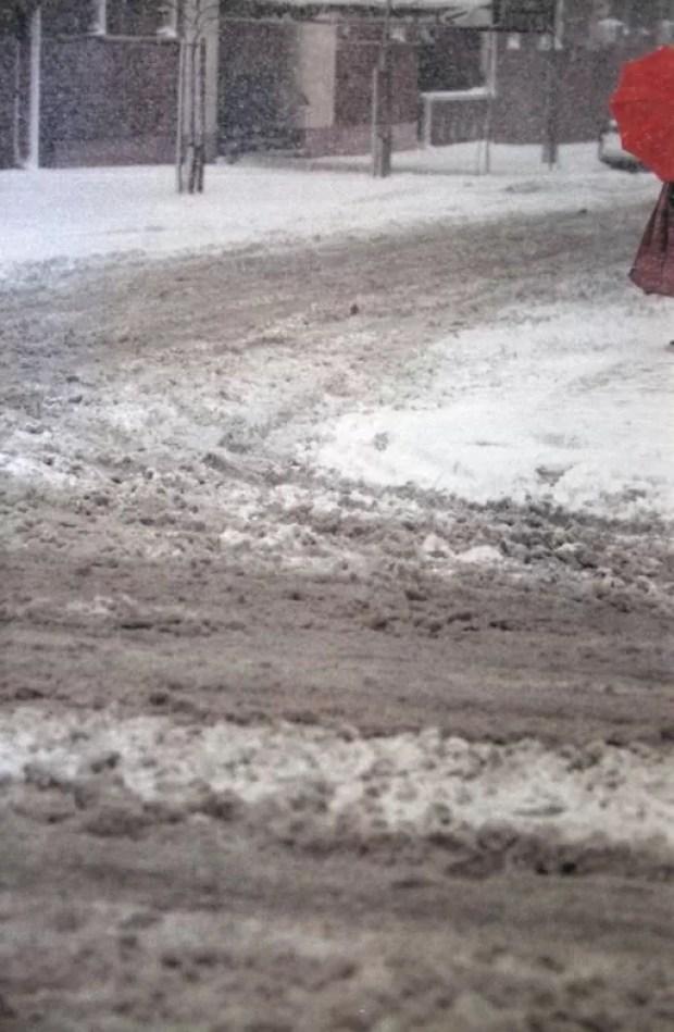 New York snow 1950′s, Saul Leiter
