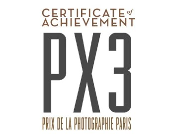 PX3 certificate - HONORABLE MENTION WINNER OF PX3, Prix de la Photographie Paris 2014 - fotostreet.it