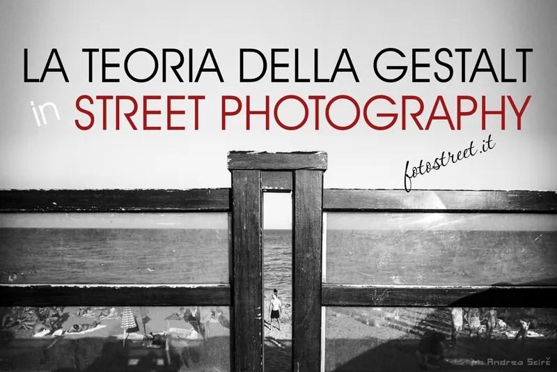 La teoria della Gestalt in Street Photography