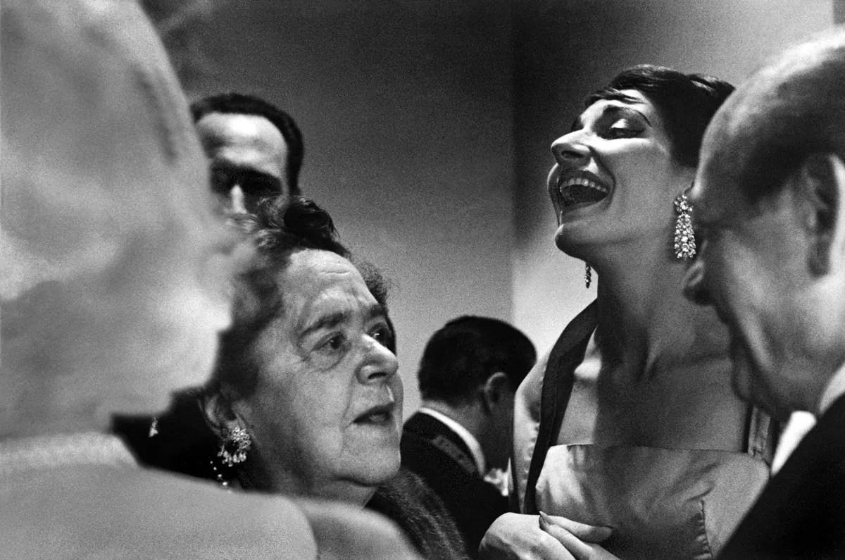 Rene Burri Maria Callas Philadelphia USA 1959 - Addio René Burri (1933-2014) - fotostreet.it