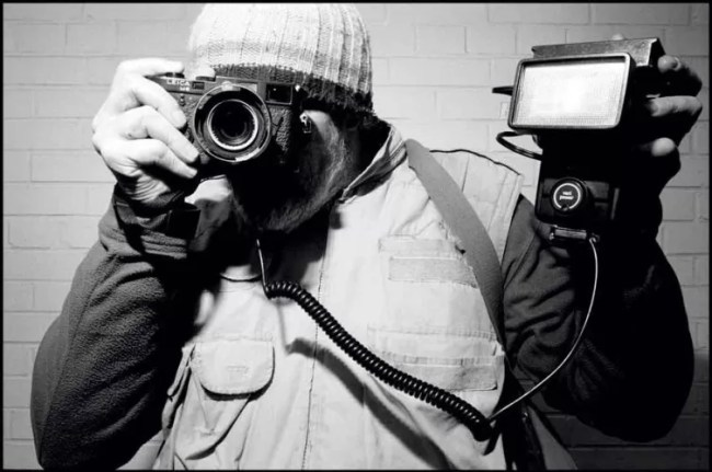 bruce gilden with leica