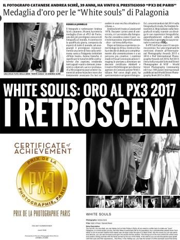 White Souls Gold Px3 2017 - Andrea Scirè - I Retroscena