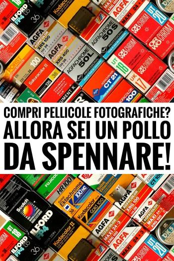 Acquisto online di pellicole fotografiche, occhio ai prezzi!