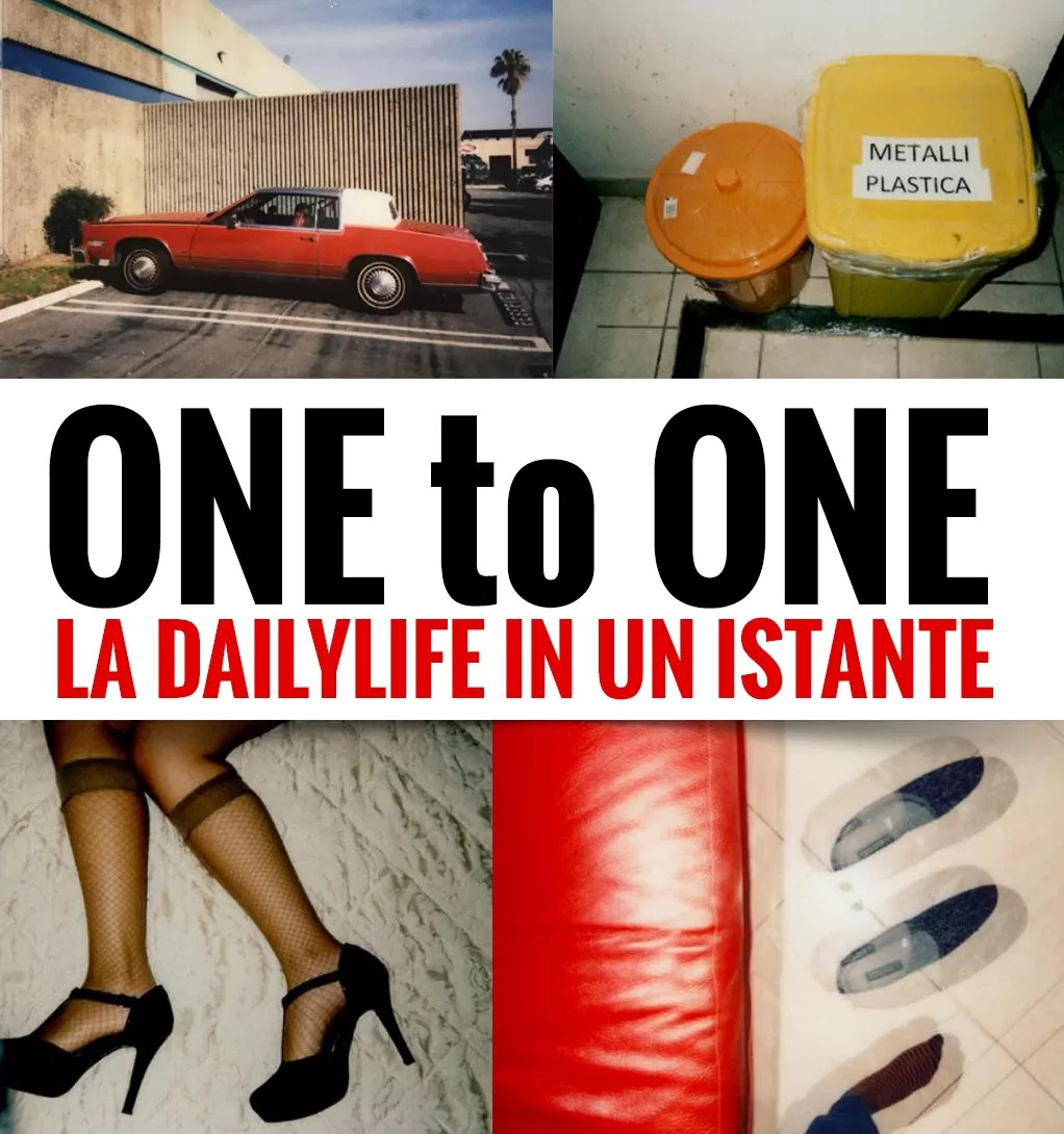 ONEtoONE la dailylife in un istante - Instant Street Photography Approach