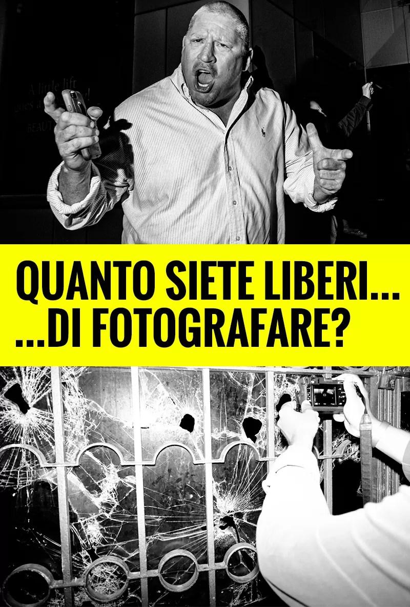 Quanto siete liberi... di fotografare?