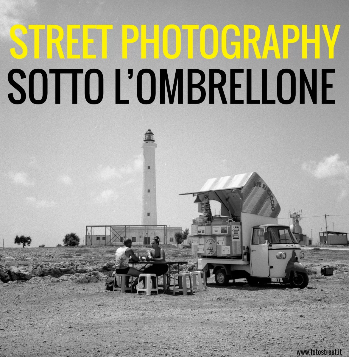 Street photography sotto l'ombrellone