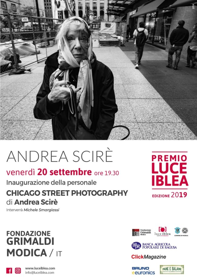 locandina 5 - Chicago Street Photography in Mostra - fotostreet.it