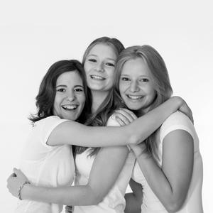 Portrait, girl, Mädchen, Freundschaft, friends