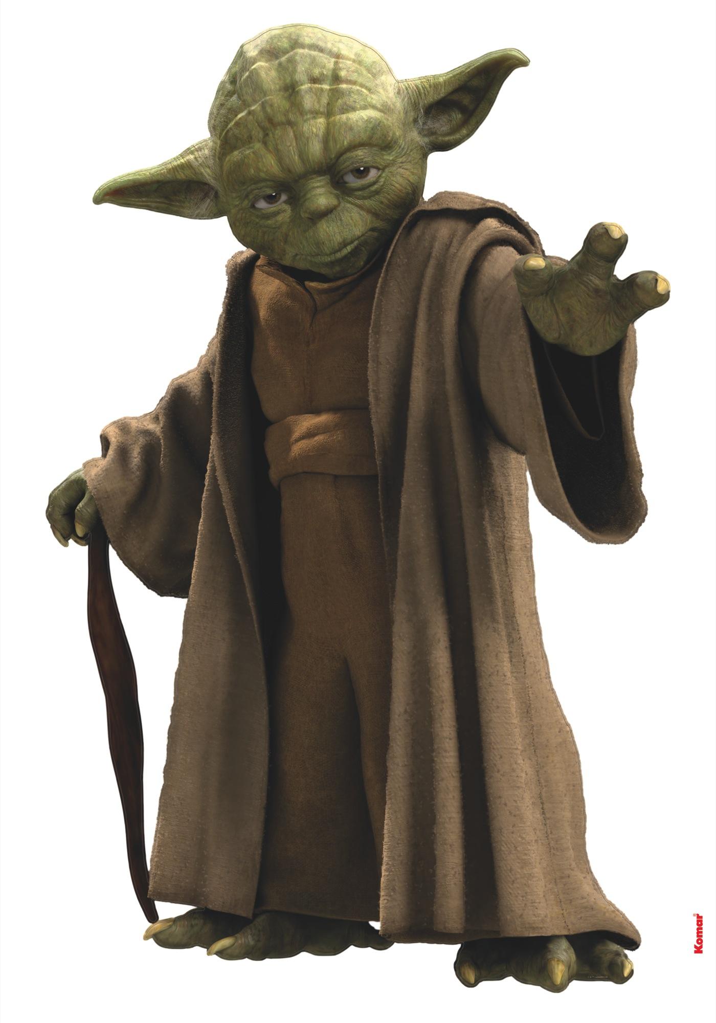 Wandsticker Star Wars Yoda von Komar