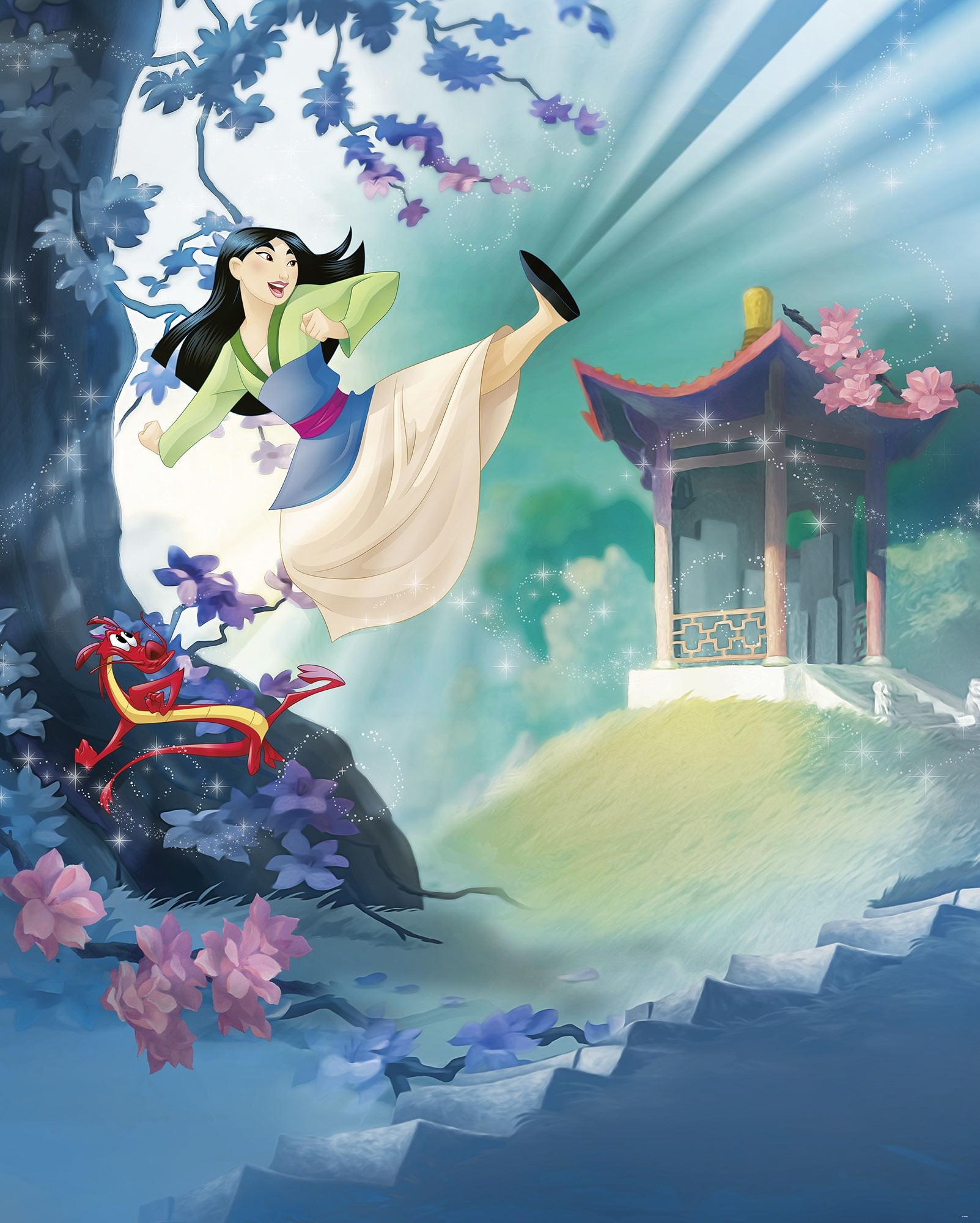 Vliestapete Mulan von Disney  fototapetede
