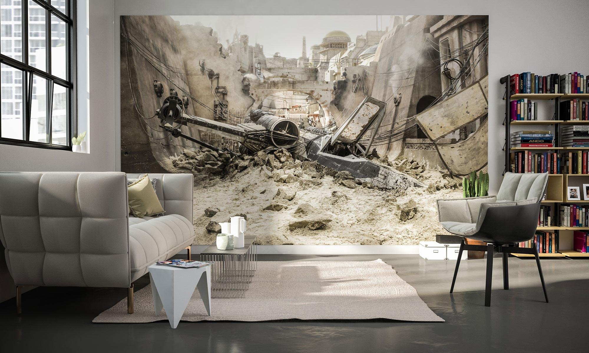 Vliestapete Star Wars XWing von Komar  fototapetede