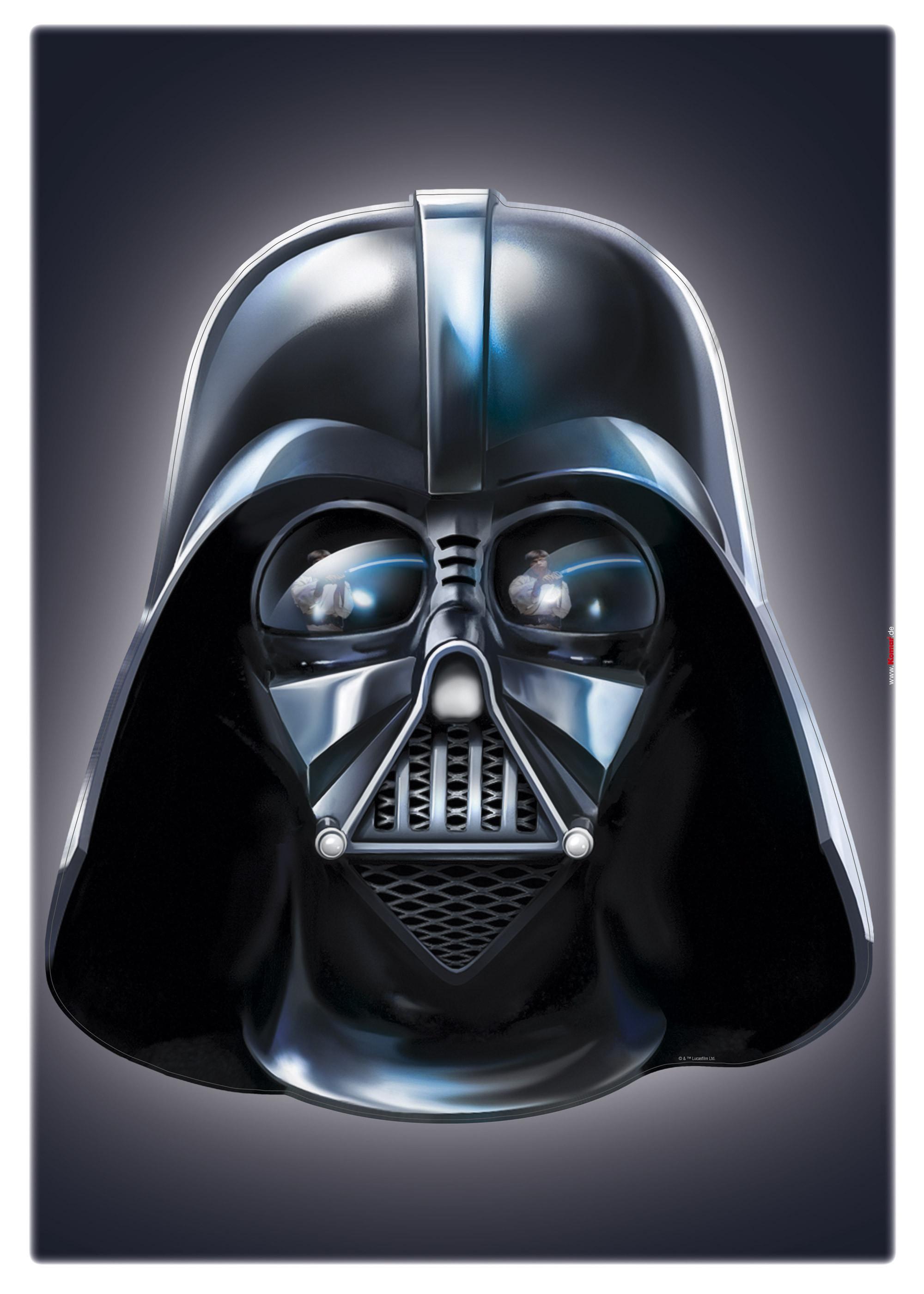 Wandsticker Star Wars Darth Vader von Komar