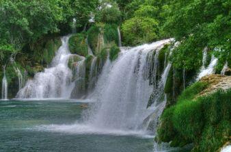 Wodospady Krka, Chorwacja