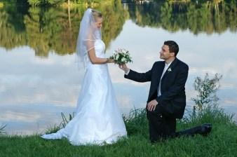 Plener fotograficzny z nowożeńcami