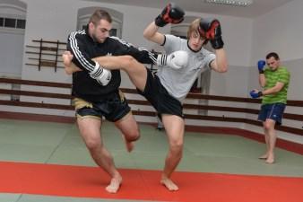 Fotografia sportu Śląsk: tajski boks