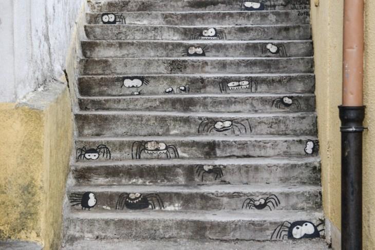 """Croatia / Chorwacja """"pajęcze"""" schody wOmisajl"""