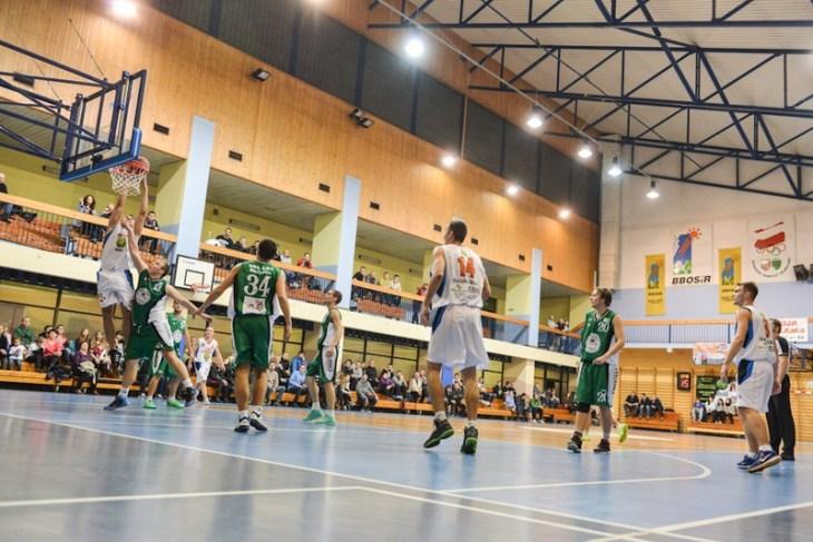 Mecze koszykówki odbywają się naHali Victorii wBielsku-Białej naul.Bratków
