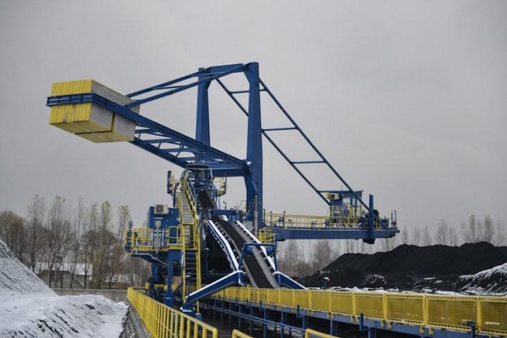 Elektrownia Bielsko-Biała: hałda węgla