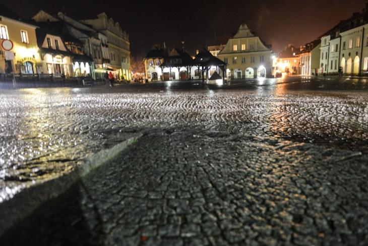 Kazimierz Dolny nad Wisłą, Rynek w nocy