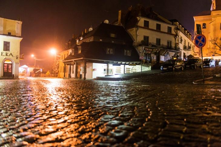 Kazimierz Dolny nad Wisłą, Rynek nocą