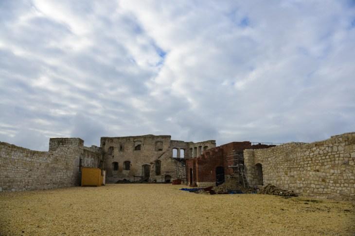 Kazimierz Dolny nad Wisłą, ruiny zamku