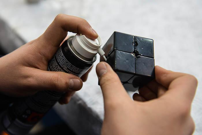 Speedcubing- oliwienie kostki