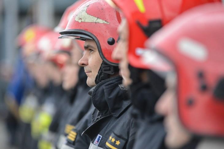 Strażacy zBielska-Białej