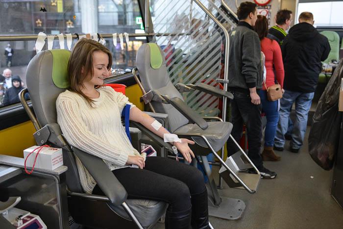 Ambulans do pobierania krwi
