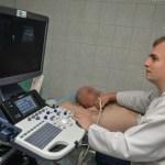 Ultrasonograf ze zrzutki