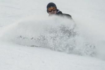 Fotografia sportowa: narciarstwo, Dębowiec