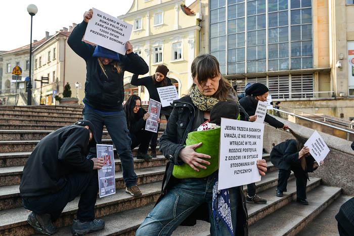 Bielsko-Białą- stop przemocy domowej