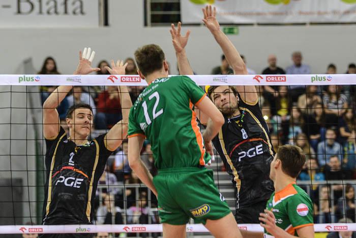Mecz siatkówki w Bielsku-Białej. BBTS:Skra