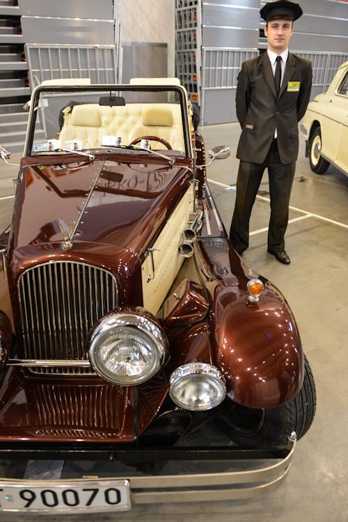 Auto z szoferem na ślub