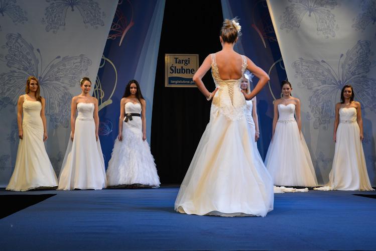 Pokaz sukien weselnych w Bielsku-Białej. Fotografia ślubna