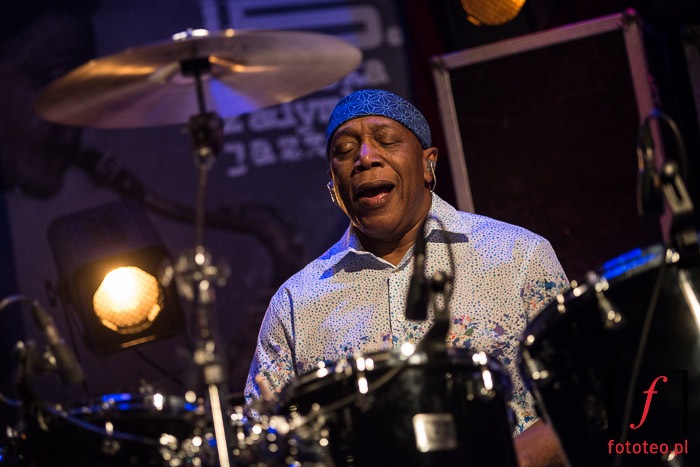 Billy Cobham Spectrum 40 during concert in Poland
