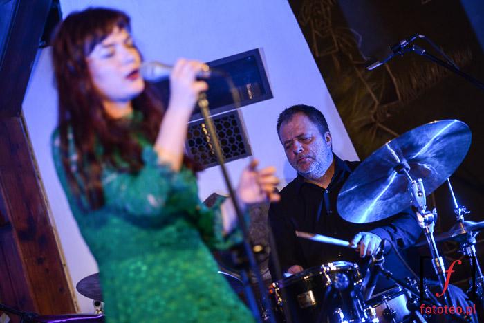 Elina Duni Quartet. Drums: Norbert Pfammater