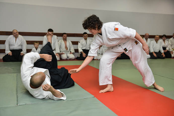 Trening Aikido, sztuka walki