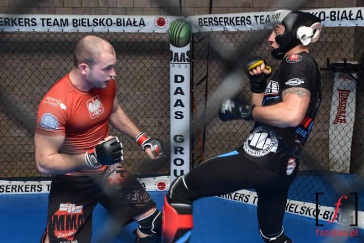 Cage fight: Berserkers Bielsko-Biała